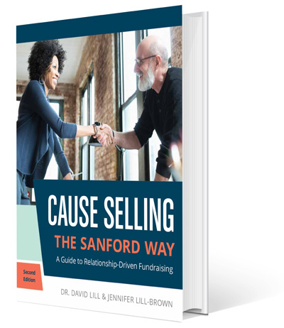 Front of the Cause Selling book