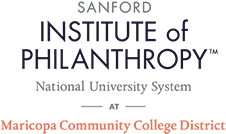 Sanford Institute of Philanthropy at Maricopa Corporate Community College logo